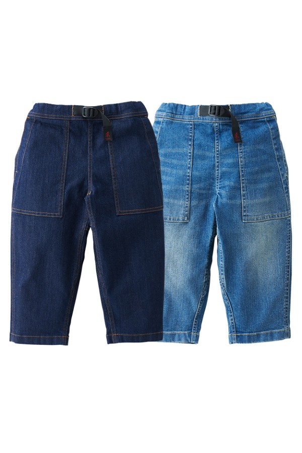 KIDS DENIM LOOSE TAPERED PANTS
